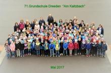 Schulgemeinschaft im Mai 2017